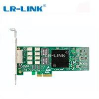 LR LINK 9712HT BP I350 T2 PCI E 4X сервер двойной RJ45 Порты и разъёмы обход серверный адаптер Gigabit Ethernet Intel i350 1 г сетевой карты