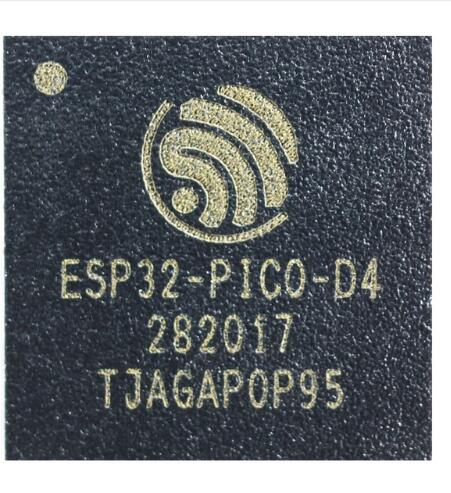 <font><b>10PCS</b></font> <font><b>ESP32</b></font>-PICO-D4 <font><b>ESP32</b></font> SIP Module SiP module with 4MB flash dual-core MCU Wi-Fi Bluetooth combo LGA 48 pin 7*7 mm image