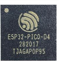 10 pcs ESP32 PICO D4 esp32 sip 모듈 sip 모듈, 4 mb 플래시 듀얼 코어 mcu wi fi 블루투스 콤보 lga 48 핀 7*7mm