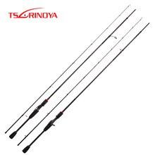 TSURINOYA HACKER 2.04m 2.2m 2.28m Carbon Spinning Fishing Rod UL L ML M MH Power Casting Rod Canne Leurre Spinning Fishing Pole недорого