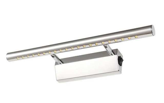 Spiegellamp Voor Badkamer : 3 w 25 cm mini stijl rvs met schakelaar led badkamer spiegel lamp in