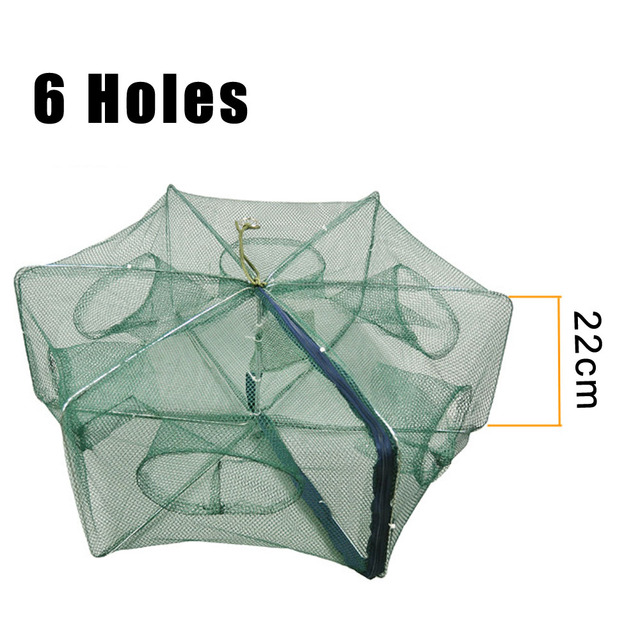 Awesome Fishing Life 16Holes Folded Hexagon Fishing Shrimp Fishing Accessories cb5feb1b7314637725a2e7: 12|16|2|6|8|L6|L8