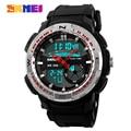 2016 New SKMEI Men's Quartz Digital Watch Men Sport Watches Relogio Masculino Fashion Military Waterproof Wristwatches