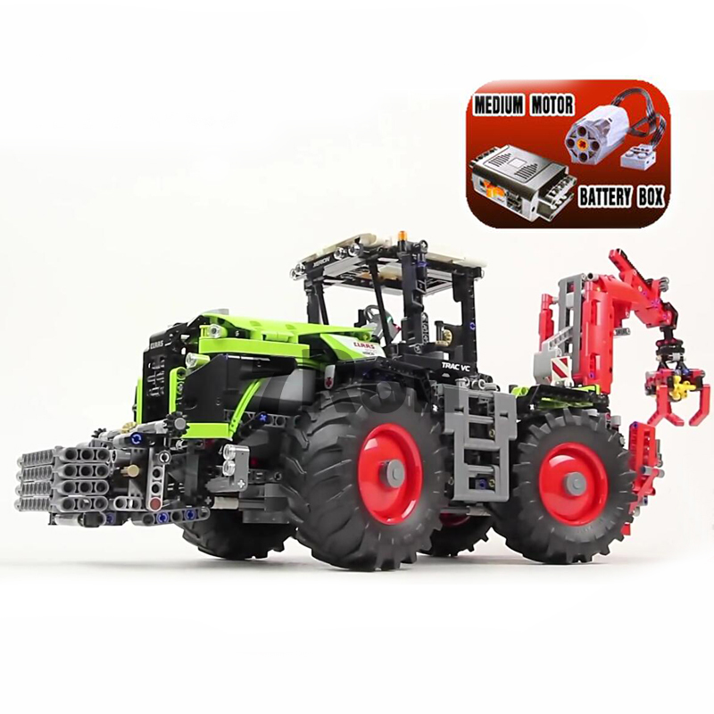 20009 1977Pcs Xerion 5000 Trac Vc Model Building Kit figures Blocks Brick Toy Gift compatible with lego Technic Claas 42054