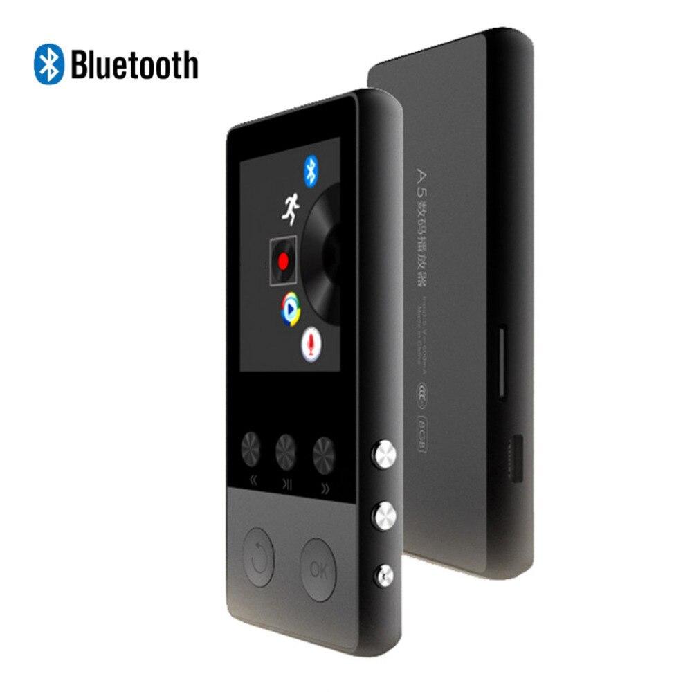Fm Radio Audio Player Schrittzähler WohltäTig Hifi Mp3 Player Bluetooth4.0 1,8 Zoll Tft Screen Mp3 Musik-player Mit Voice Recorder Video
