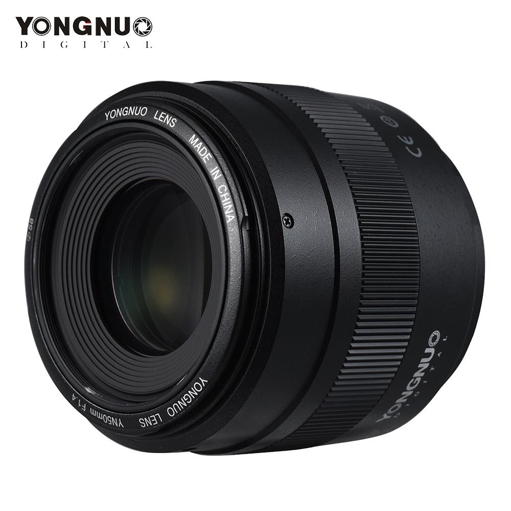 YONGNUO YN50mm Lens YN50mm F1 4 Standard Prime Lens Large Aperture Auto Focus Lens for Canon