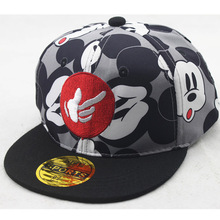 Color Printing Cartoon Mouse Mickey Children Baseball Hat Baby Outdoor