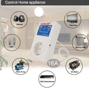 Image 3 - Contrôleur de température 16a GSM, alarme hors tension, pour la maison, interrupteur relais Intelligent, sortie SMS, télécommande, ouvre porte