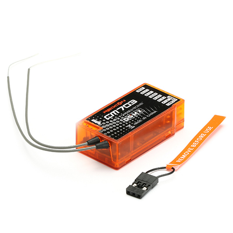 REDCON CM703 2.4G 7CH for DSM2 for DSMX Compatible Receiver With PPM Output for RC Spare Parts Accessories