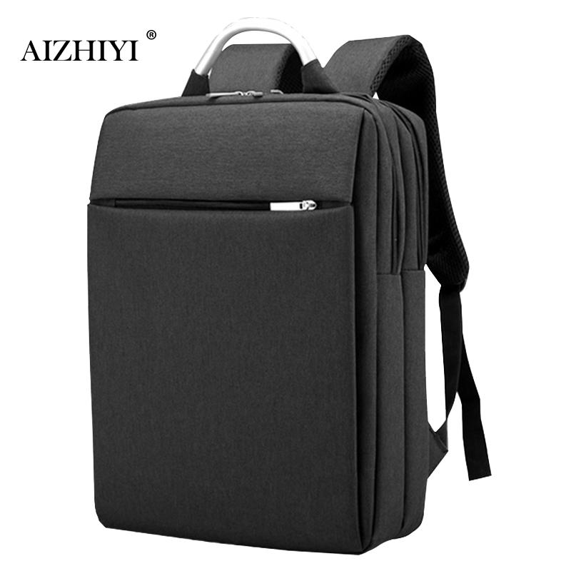 Multifunctional Fashion Men Oxford Backpack Business Casual Travel Shoulder Bags 14in Laptop Bag Durable Classic Backpack