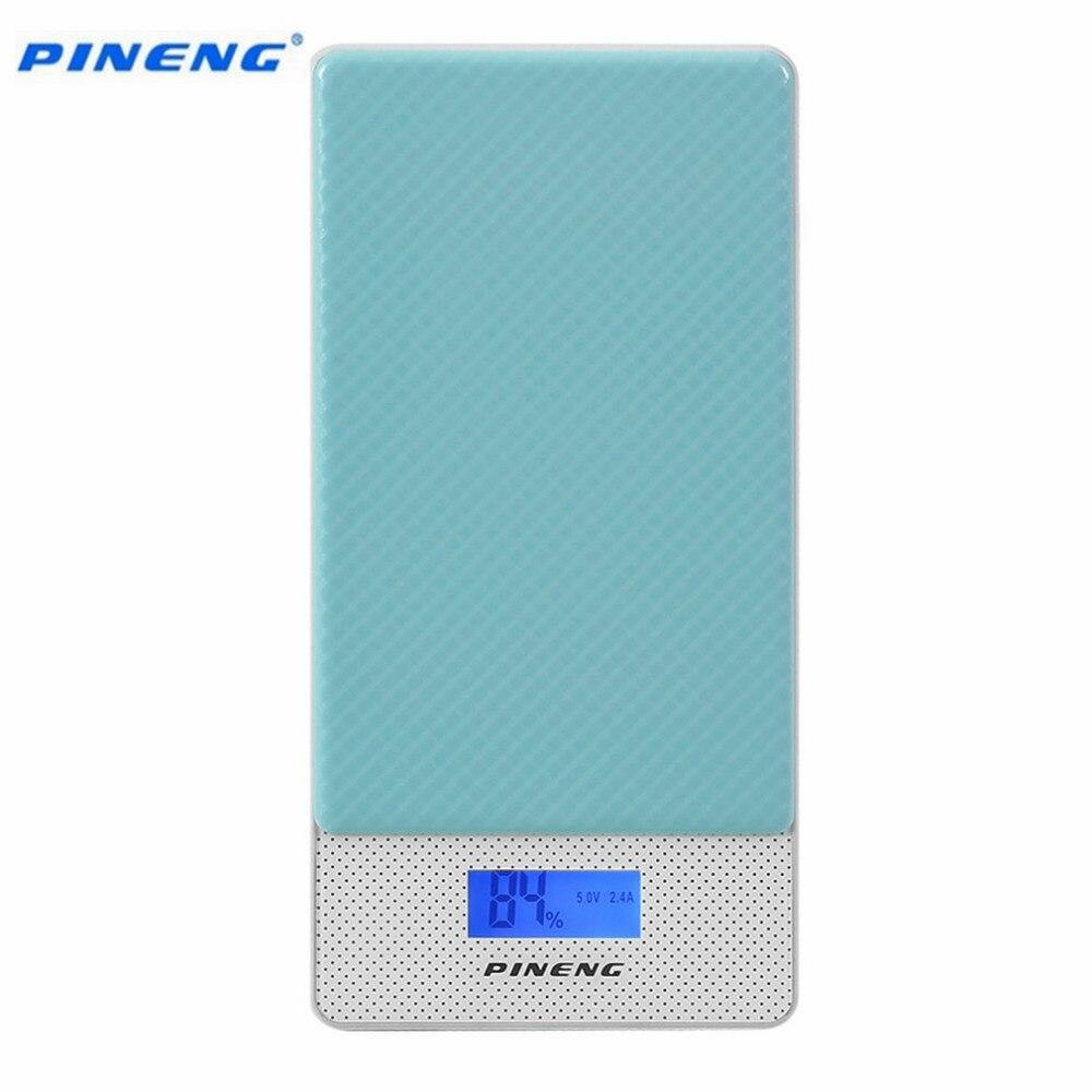 imágenes para PN-993 PINENG 10000 mAh Teléfono Móvil Banco de la Energía Paquete Externo de La Batería de Mayor Capacidad de CONTROL de calidad 3.0 Del Cargador de Alimentación Para Inteligentes teléfono