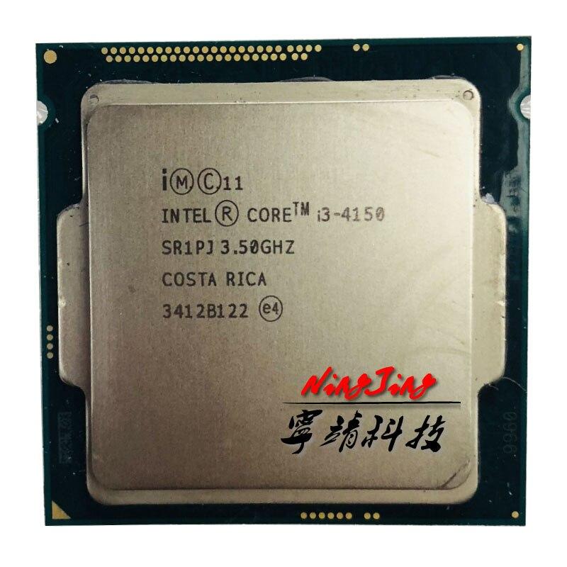 Intel Core i3 4150 i3 4150 3 5 GHz Dual Core CPU Processor 3M 54W LGA
