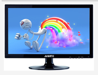 Anmite 15 Lcd New Desktop Commercial Resistance Touch Panel 15.6touch Screen Led Monitor Pc Feel Handle 1366 X 768 D sub