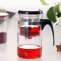 Tasse élégante haute température résistant tasse en verre tasse de thé tasse délicate doublure pot de fleur kung fu thé