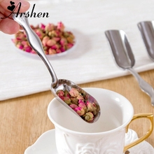 Tea Spoons Scoops Kitchen-Accessories-Tools Tea-Coffee-Powder Arshen Teaware Flower Kung-Fu