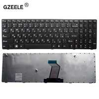 GZEELE RU clavier D'ordinateur Portable pour LENOVO b590 V570 Z570 Z575 B570A B570G B575 B575A B580 25013347 avec cadre noir RU