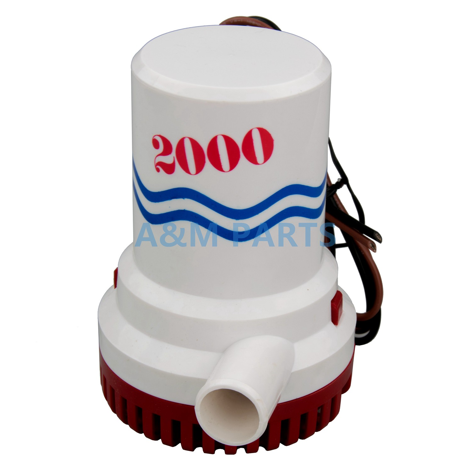 12V 2000GPH Boat Bilge Pump Marine Water Pump DC Submersible Pump sailflo new mini bilge pump marine water aspirator fountain submersible yacht boat electric marine bilge pump