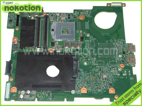 0VVN1W laptop motherboard for DELL INSPIRON N5110 INTEL HM67 with GMA HD DDR3 free shipping