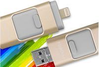 New 3 In1 Otg Usb Flash Drive 64gb Usb Stick 32gb Pen Drive 16gb Usb Stick