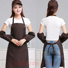 Coffee Bib Apron Butcher Apron Pocket Cooking Catering apron-Wholesale Price Brief  Aprons my apron