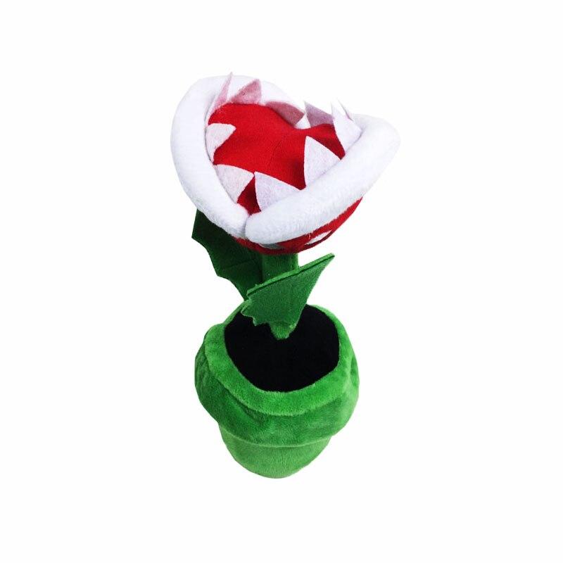 NEW 2018 1Pcs 20cm Super Mario Plush Corpse Flower Piranha Toy Doll Anime Dolls Soft Children Hot Toys