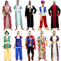 Arab Clothing Middle East Costume Robe Cosplay Carnival Halloween Costumes for Men Christmas Birthday Party