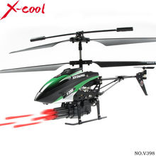 New 2014 wl toys v398 3.5CH Missile launch 360 Degree Rotation WL V398 RC Helicopter /rc toys,dropship