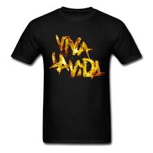 Rock coldplay Cheap Custom T Shirts Viva la Vida Gold Letter Short Sleeve Father's Day Custom Man Geek Tshirt 3XL