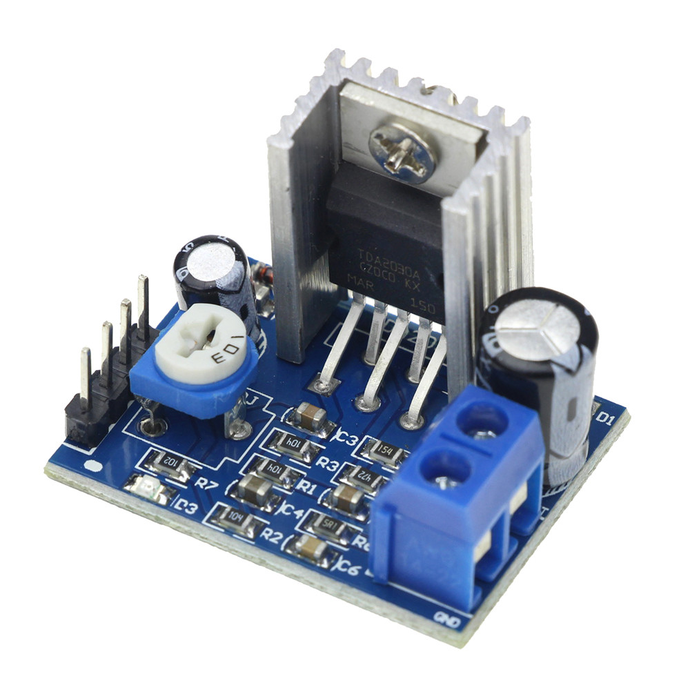 400 Watt Hi Fi Stereo Power Amplifier Circut Tda2030 Transistor 35w Bridged 1pcs Lot Tda2030a Module Single Supply Audio Board