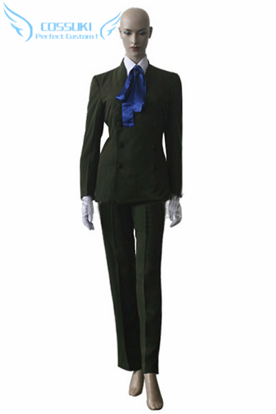 Newest High Quality Hellsing Sir Integra Uniform Cosplay Costume Perfect Custom For You