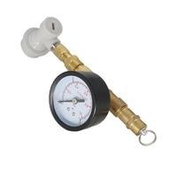 Homebrew Adjustable Pressure Valve w/Gauge With Thread Gas Ball Lock,Kegging equipment