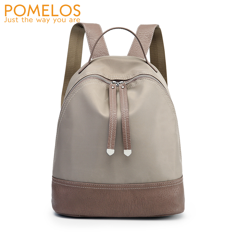 POMELOS Women 2018 New Oxford Waterproof Casual Backpack Ladies Back Pack Rucksack Female Girls School Back Bag Travel Backpacks 2018 hot new travel sack designer backpack women back pack school girl cotton canvas diamond lattice backpacks green oxford bags