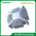 DIY LED Heatsink 20w-50w Pure aluminium heat sink radiator for Cob led cooler cooling