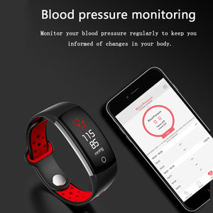 Image 4 - Smart Bracelet Women Q6 Bluetooth Smartwatch Men Heart Rate Blood Pressure Monitor Sport Watch Fitness Tracker for Android IOS