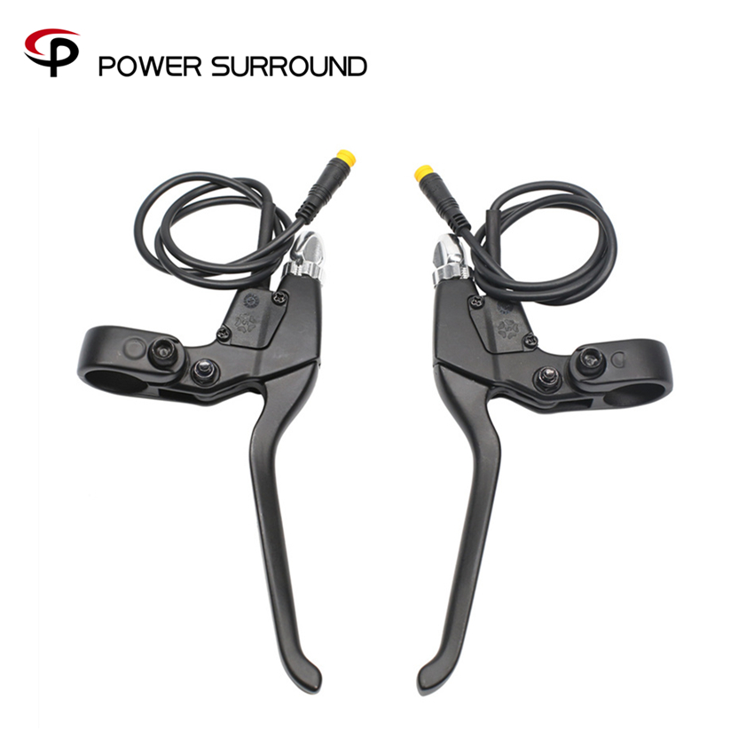 Free shipping electric bike BBS motor cut off power brake lever for bafang mid drive motor