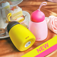 260ml Mini Cute Stainless Steel Chocolates Thermos Vacuum Cup Flask Belly Cup Portable Children Students Drink
