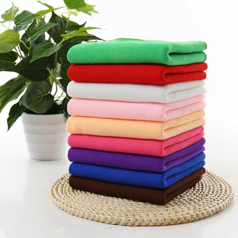 30x70cm Miicrofiber Fabric Soft Towel Hand Beach Bathroom Room Car Cleaning Towels toalla Absorbent Kitchen Wash Clean Cloth