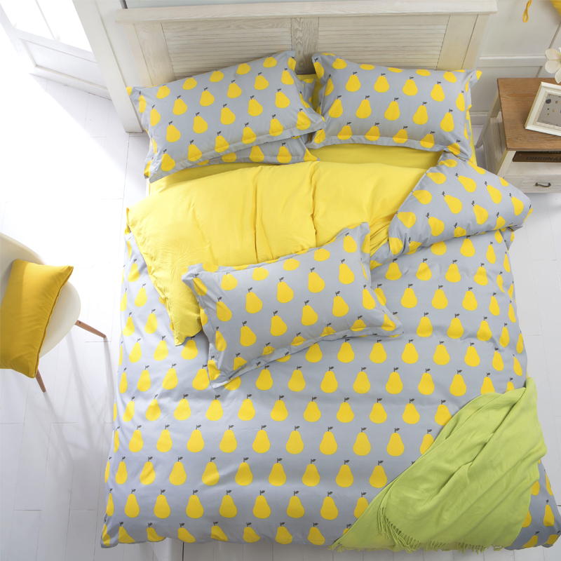 juwenin polyester microfiber duvet cover set 1pc duvet cover 1pc bed sheet set 2pcs pillowcase size bedding set
