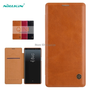 Image 2 - Case For Samsung Galaxy Note 9 NILLKIN Qin Series Flip Cover Case For Samsung Note 9 Note9 Book Flip PU Leather Case