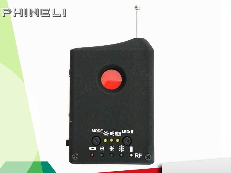 Anti Detector Hidden Camera GSM Audio Bug Finder GPS Signal Lens RF Tracker Anti Candid Camera Detector