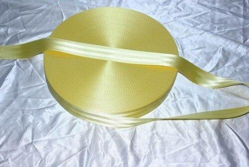 5 м Рулон Лямки Ремня безопасности Ремень Безопасности желтый Цвет 4.8 см В Ширину 5 Баров