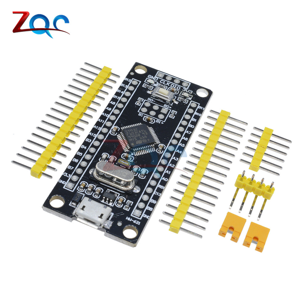 STM32F103C8T6 ARM STM32 Minimum System Development Learning Board Module For Arduino Micro USB controller sc1 stm32f103c8t6 arm hikit development board smart home w5500 ethernet network module