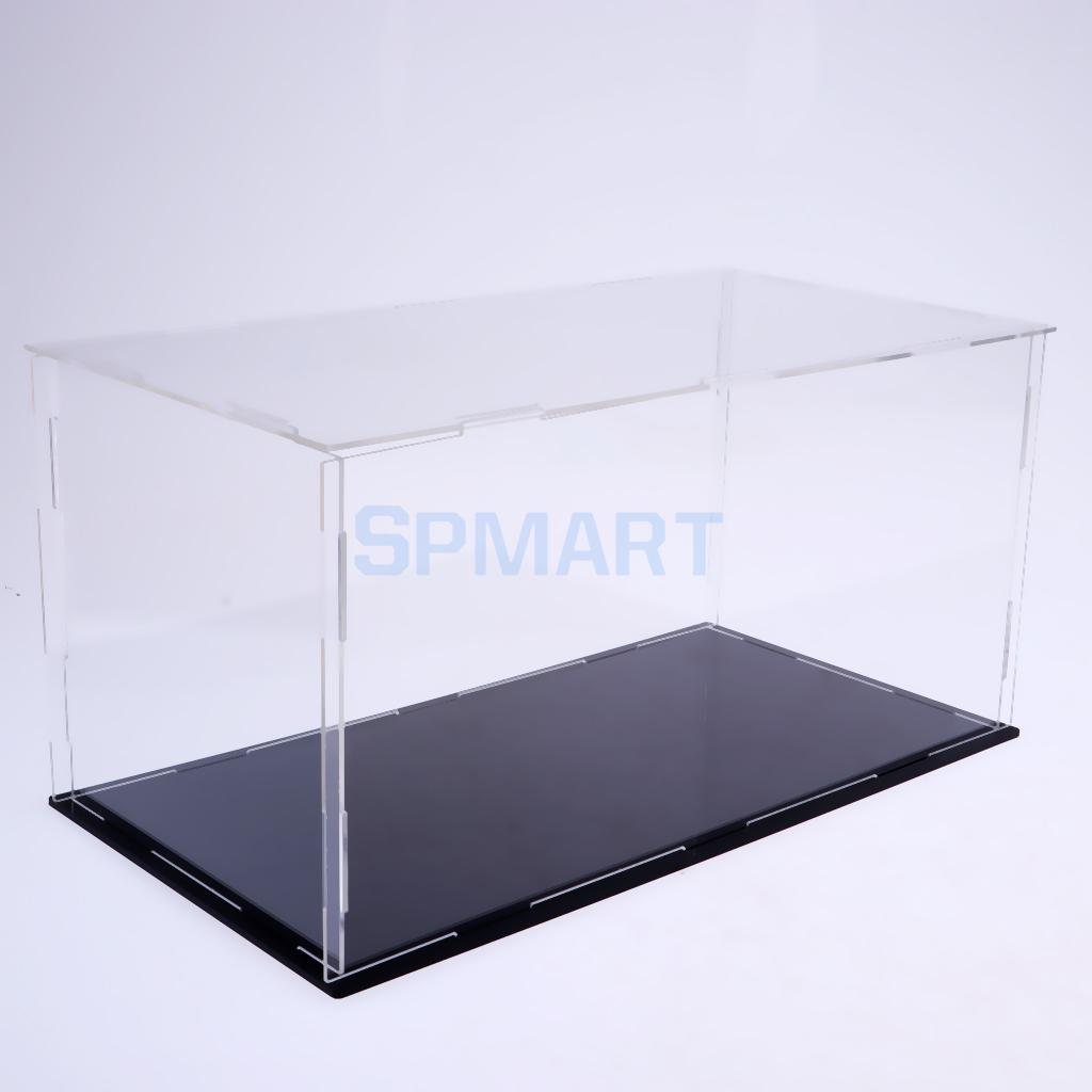40x20x20cm Clear Acrylic Display Case Show Box for Action Figures Doll Model