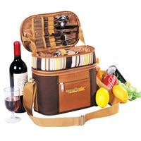 Портативный сумка для посуды cubiertos сумка для пикника и кемпинга набор для пикника многофункциональная сумка холодильник путешествия рюкза...
