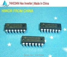 50 pçs/lote SN74HC04N 74HC04N 74HC04 DIP-14 Hex Inverter Made In China