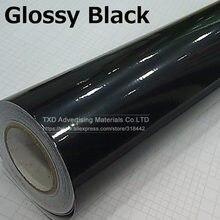 Decalque em vinil para carro, envoltório decalque em vinil preto brilhante de 10/20/30/40/50/60x152cm adesivo de filme brilhante preto, envoltório para capuz, telhado, motocicleta, scooter