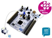 Placa de desarrollo NUCLEO F411RE brazo mbed STM32, Nucleo 64 oficial ST, con STM32F411RE, MCU, compatible con conectividad ST Morpho