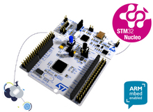 ST הרשמי NUCLEO F411RE STM32 Nucleo 64 ARM mbed פיתוח לוח עם STM32F411RE MCU תומך ST Morpho קישוריות