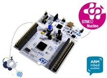ST อย่างเป็นทางการ NUCLEO F411RE STM32 Nucleo 64 แขน mbed การพัฒนาบอร์ด STM32F411RE MCU รองรับ ST Morpho การเชื่อมต่อ