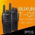 (2 PCS) two way radio BUXUN T-Q7 Drop the waterproof Hotel road Three 10w power proofing walkie talkie